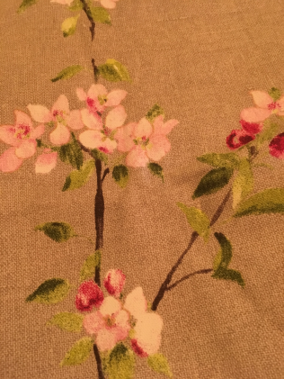Love this bloosom fabric