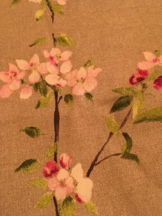 Love this bloosom fabric